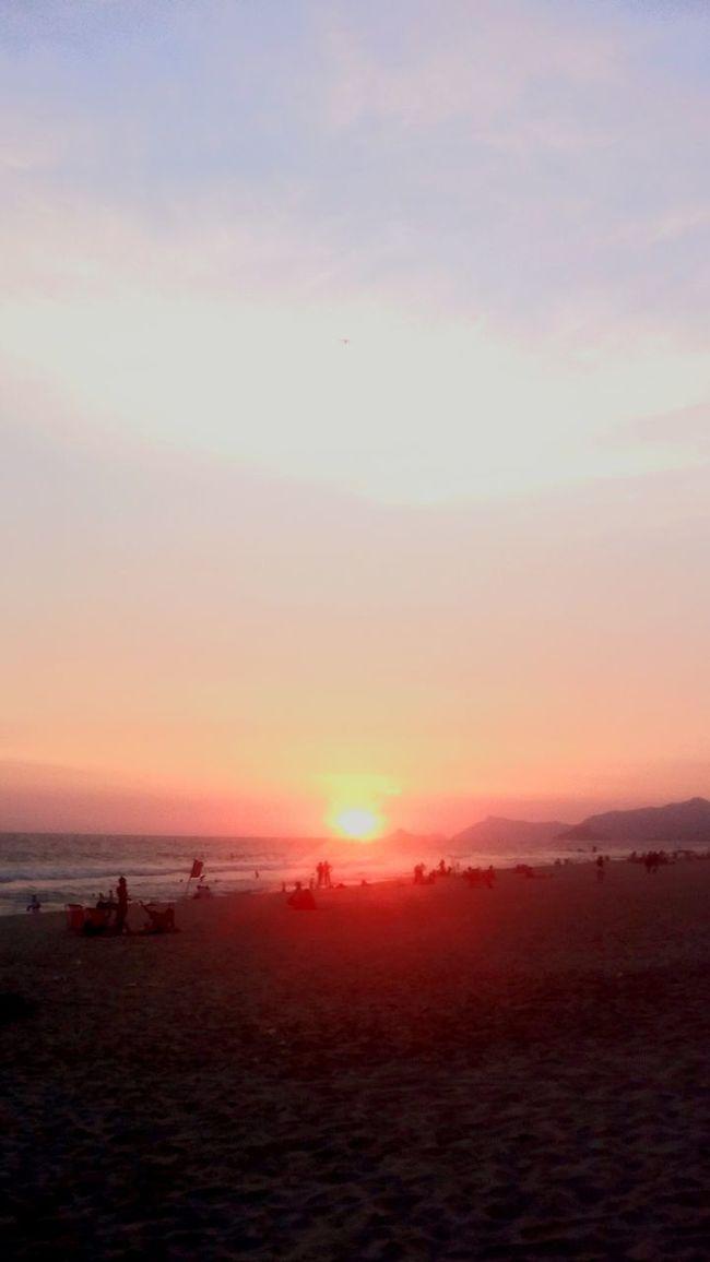 Sunset Running Enjoying The Sun RJ