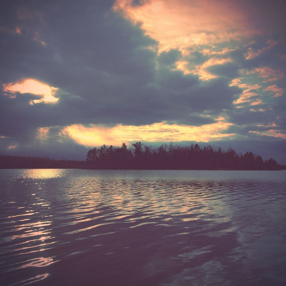 Watching the wilderness come alive from a canoe | edited with the Woodcamera & Viewmatic Apps.
