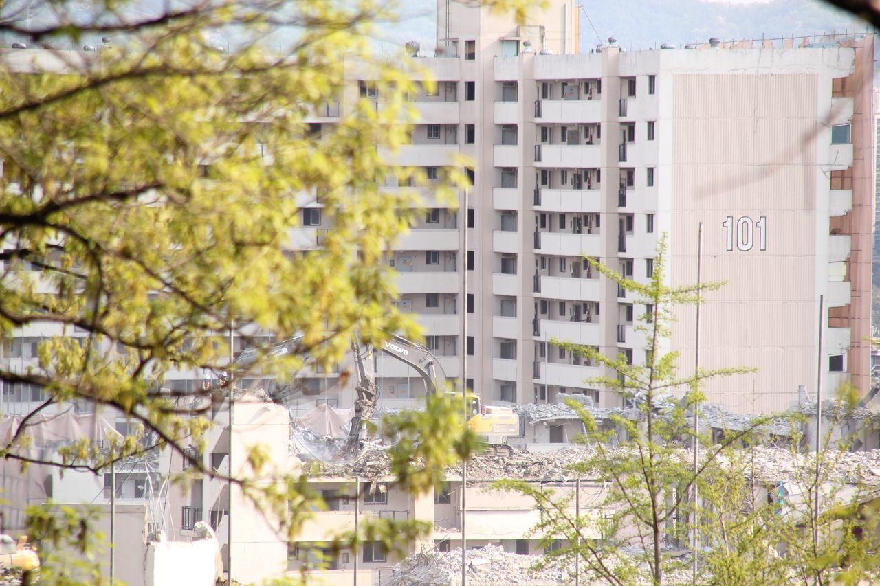 Apartment Architecture Building Exterior Built Structure City Day Demolition Destruction No People Outdoors Residential Building Seongnam