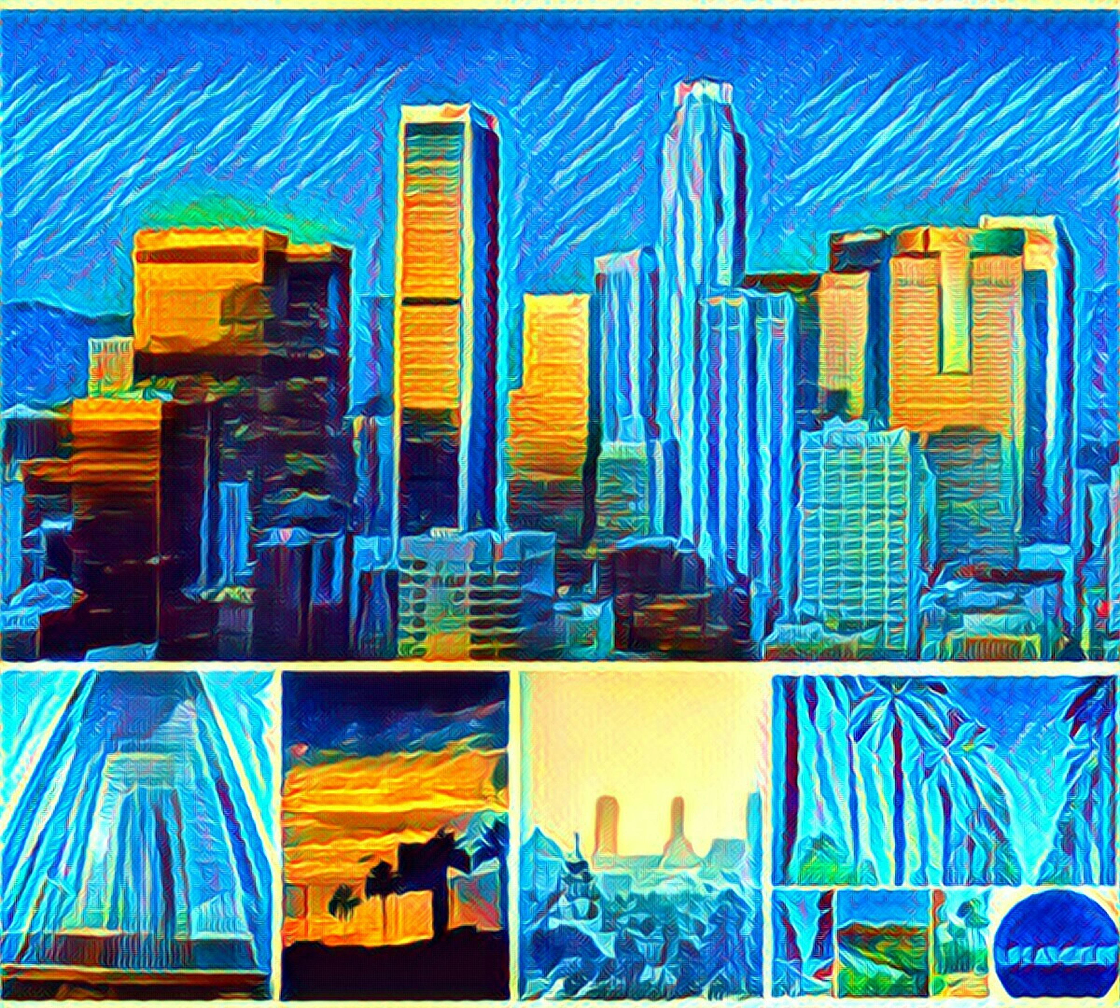 skyscraper, city, blue, abstract, no people, technology, multi colored, internet, full frame, backgrounds, communication, growth, connection, futuristic, outdoors, day, sky