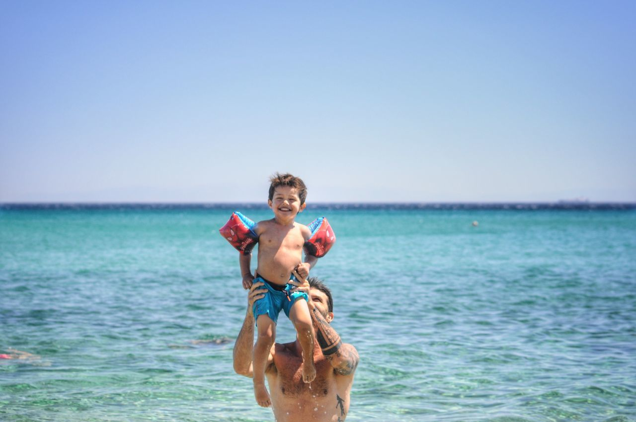 Fatherhood Moments Father & Son Having Fun Happiness Summer Time  Connection Capture The Moment Pricelessmoments  People Photography Pure Love Hold My Hand Togetherness Smile Dad Love Family Matters Memories Happy People My Son On The Beach Beachphotography Summer Views Enjoyment Waterfront Vacations
