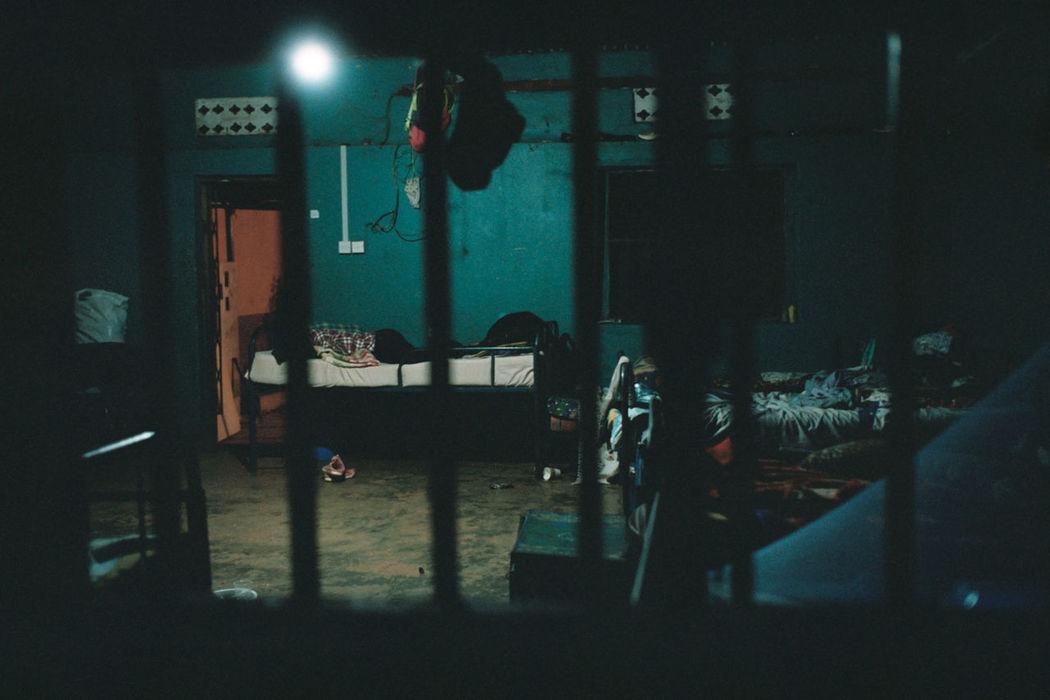 Illuminated Indoors  Kodak Portra 400 LEICA M Leica M6 Men Night One Person Orphanage Summicron 35mm