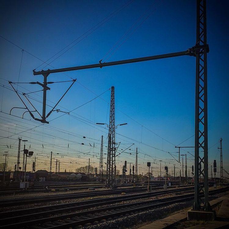 Train Station Germany Travel Bahnhof Photooftheday Gleise Ig Instagood Photoshopexpress Railstagram
