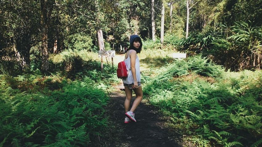Red riding bag :) Traveling Hiking Trail EyeEm Nature Lover Portrait Of A Friend