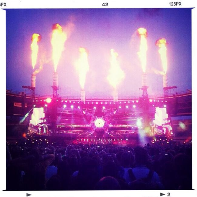 Muse One Years Ago Live Music Torino 2013