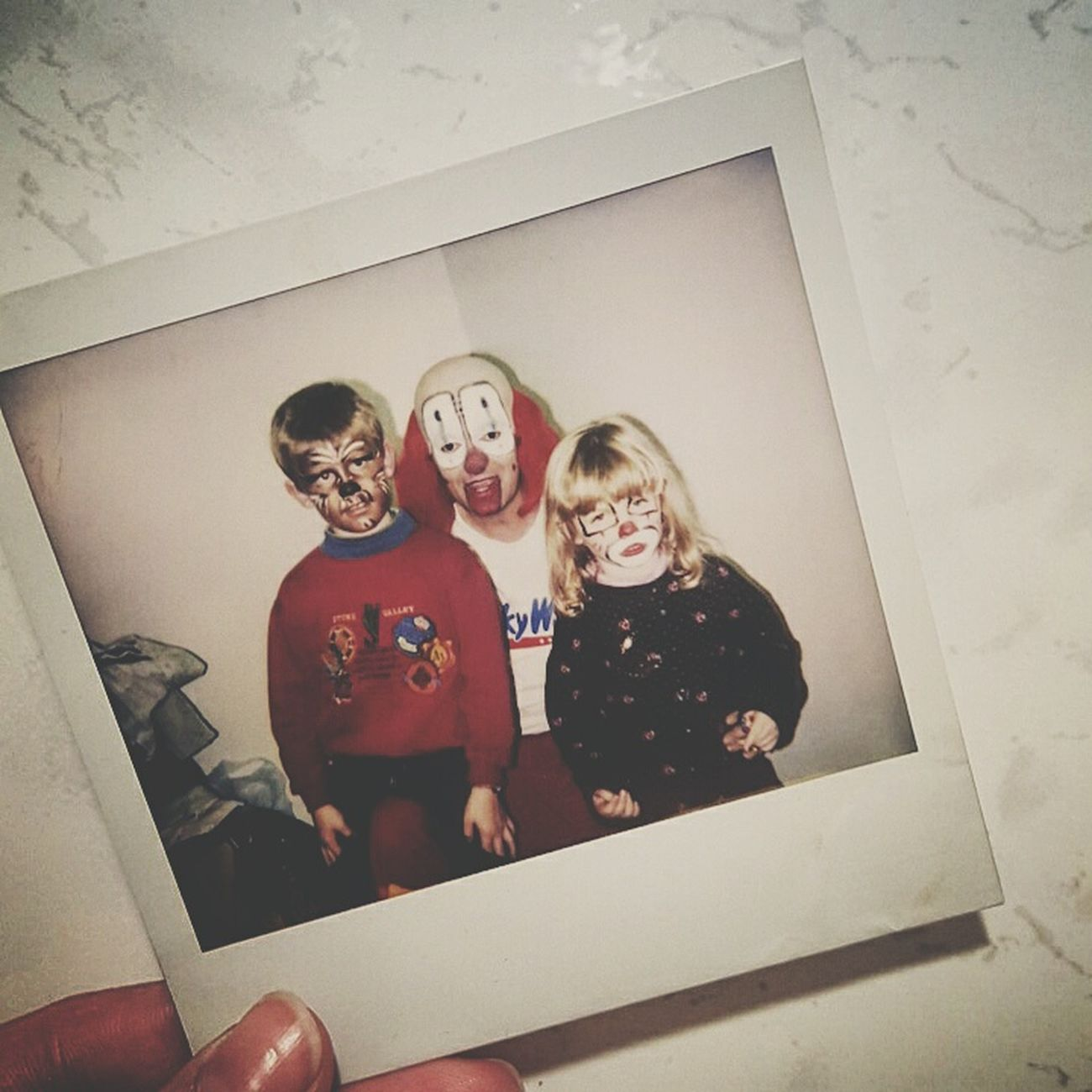 Not entertained. Entertaining Stupid Clown Cool Kids Natural Hair Kid Nostalgic  Girl Brother Buddy Blonde Blonde Hair Polaroid 90s Kid 90s