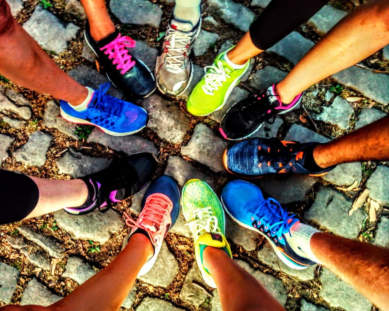 Sunshine training Training Color My Run Rainbow Fort Queuleu Metz