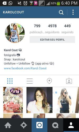 Follow me in instagram. @karolcout @karolcout @karolcout