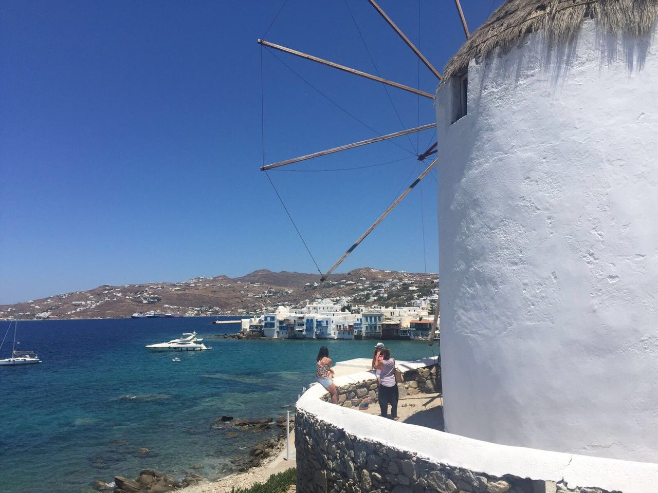 Traveling Travelphotography Cyclades Islands Mykonostown Windmill Best Destination Greece Europe