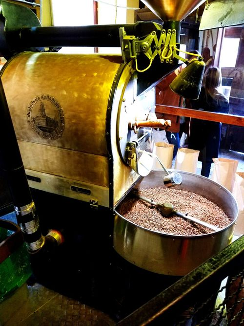 Indoors  Preparation  Food And Drink Factory Drink No People Water Day Freshness Close-up Iron - Metal Rustic Charm Coffee ☕ Coffee - Drink Coffee Bean Coffeeshop Coffe Time Coffee Culture Coffee Machine ☕ Coffee Roasting Coffee Roaster Coffee Roasting Machine Coffee Roasting House Cafe Caffè Latte