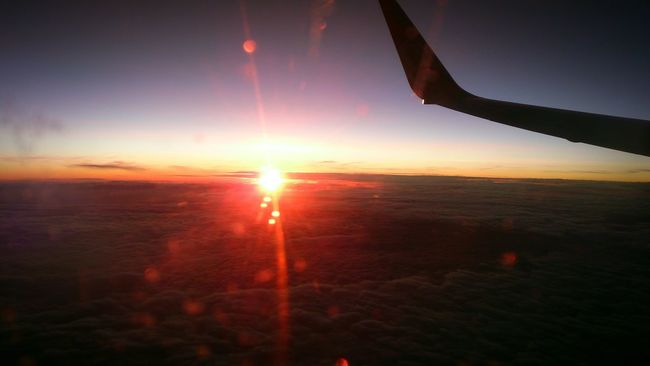 Taking Photos Check This Out Sun Sunrise Red Sun Beautiful Beautiful Day From An Airplane Window Morning Color Portrait Beautiful Nature Godscreation Hello World Relaxing Enjoying Life Enjoying The Sun Enjoying The View