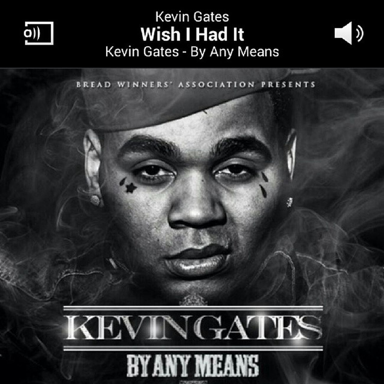 This man right here idk how but he make you feel like you can take nothing and create something out of it FavoriteRapper Kevingates Byanymeans