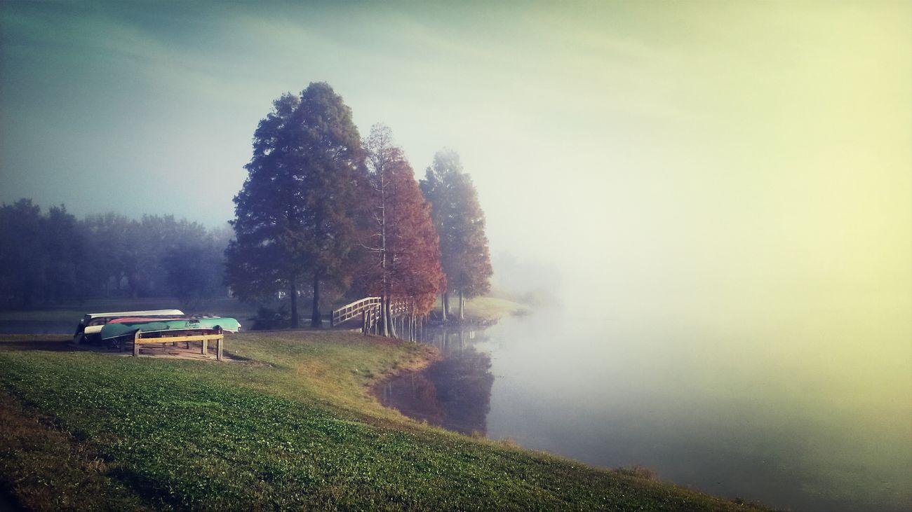 My Best Photo 2014 Morning fog over my lake.