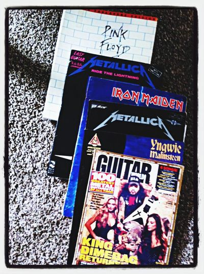 Most prized possessions Pantera Metallica Iron Maiden Yngwie Malmsteen pink floyd