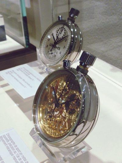 At Museum :) Longines Watch Beautiful