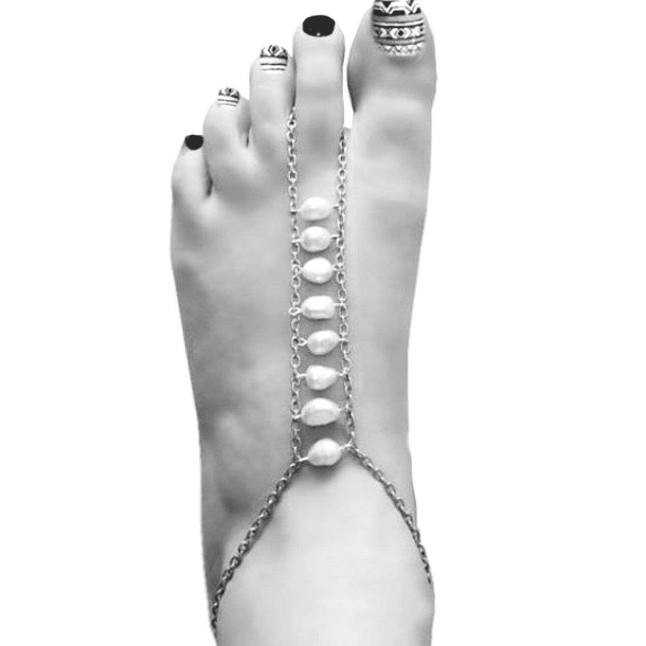 Art Is Everywhere Foot Nail Art Beach Anklet Foot Jewelry