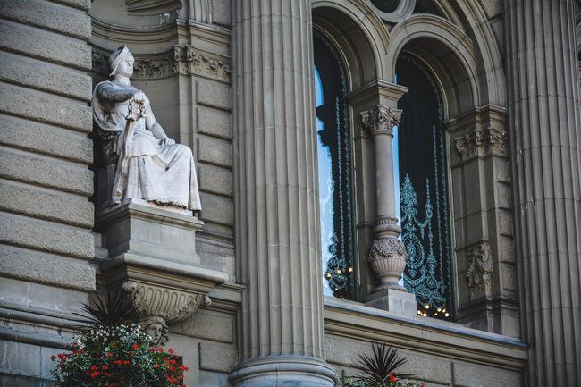 Architectural Column Architecture Bern Building Exterior HDR Sculpture Suisse  Suiza Swiss Switzerland