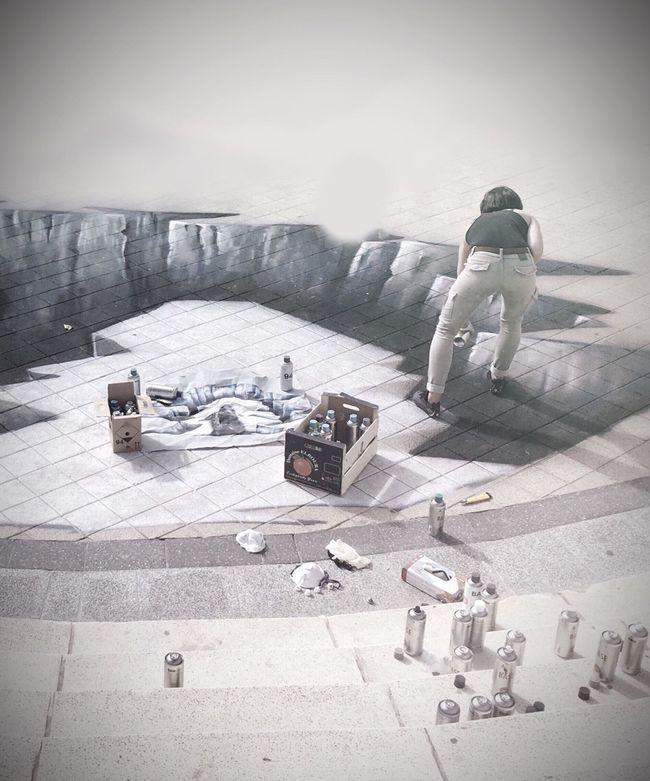 Streetphotography Street Art Scenics Hole Pain Painting Spraypaint Optical Illusion