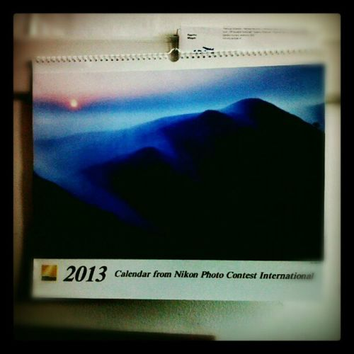 E' arrivato il calendario Nikon 2013! Se venerdì passa indenne...!! Nikon Nital 2013