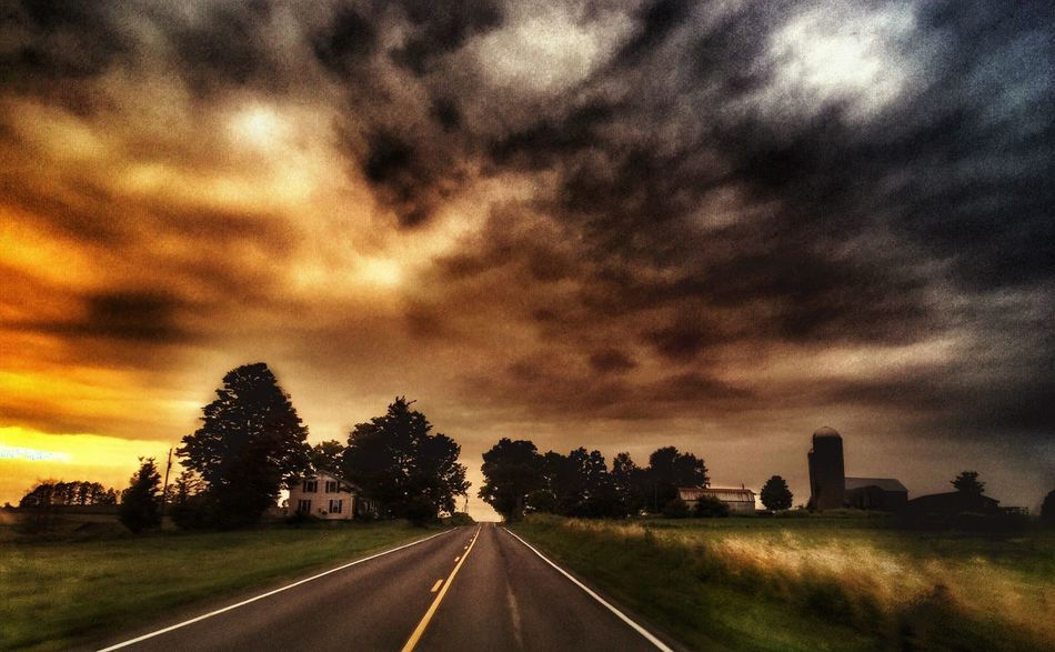 New roads ahead This Week On Eyeem Nature Landscape Sunset