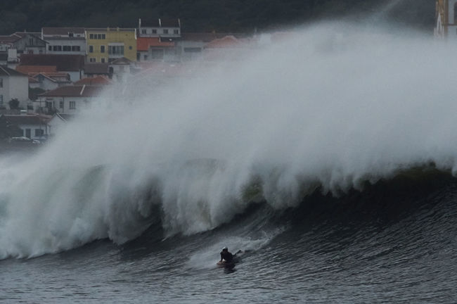 Azores, Terceira BIG Bodyboard City, Houses Nature Outdoors Power In Nature Praia Sea, Splashing Vitoria Waves, Ocean, Nature Weather