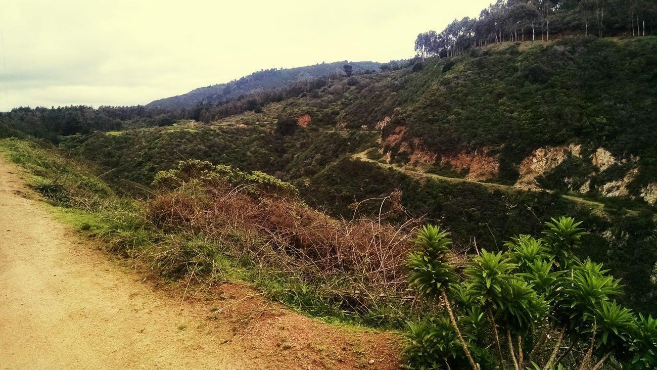 Perdido en las montañas :) Las Docas