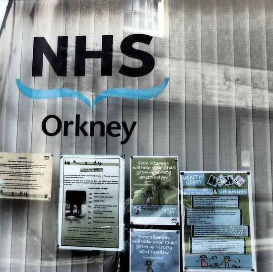 Kirkwall - Orkney Islands, Scotland Day Outdoors Text Communication Scottish Highlands Close-up No People Remote Location Western Script Orkney Islands A Taste Of Scotland Bitter Winters Bleak And Cold NHS Orkney NHS Scotland