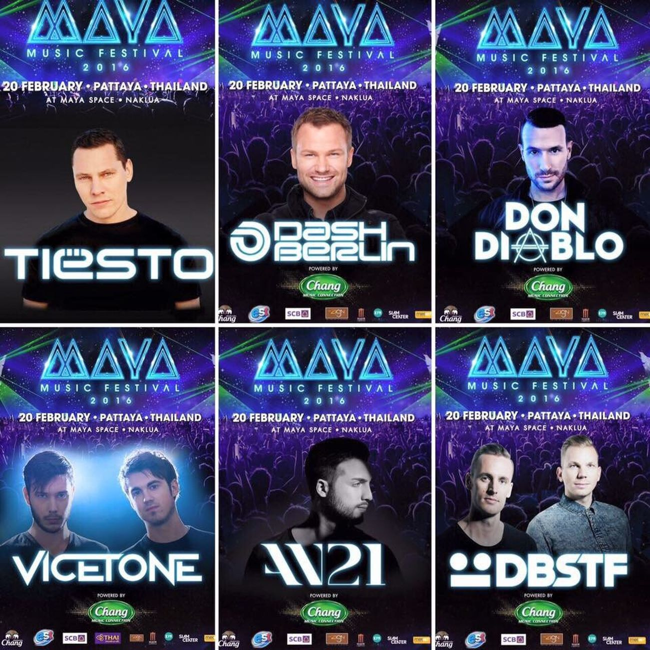 So much fun Mayamusicfestival Edm Pattaya Thailand Tiesto DashBerlin Dondiablo Vicetone An21 DBSTF. The Best DJ 😎