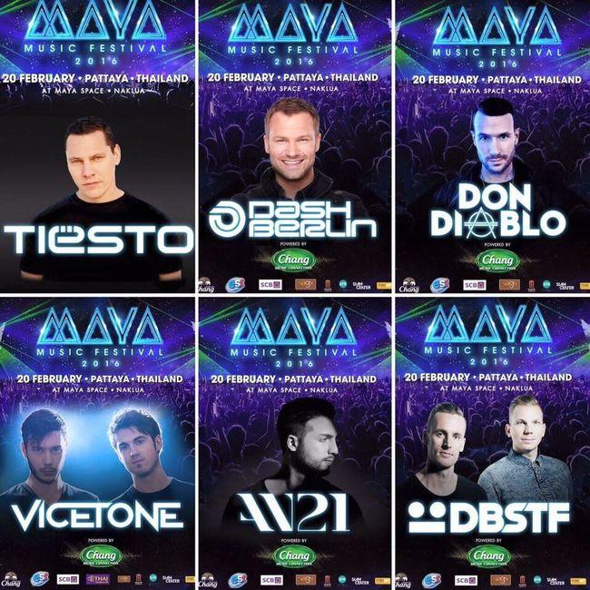 So much fun Mayamusicfestival Edm Pattaya Thailand Tiesto DashBerlin Dondiablo Vicetone An21 DBSTF. The Best DJ 😎