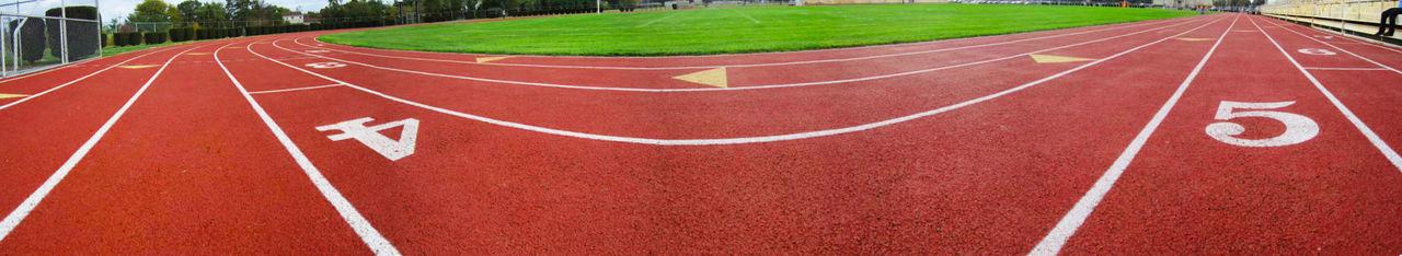 Track Race High School Panorama Pennsylvania