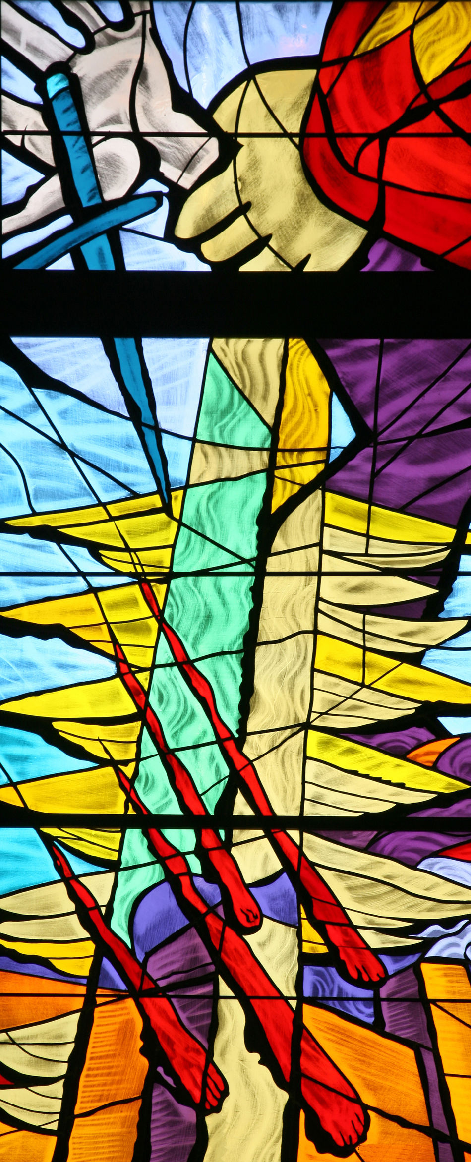 Jacob Abbey Belief Christianity Church Convent Faith Glass Holy Jacob Multi Colored Patron Religion Religious  Sacred Saint Spiritual Stained Window Windowpane Worship
