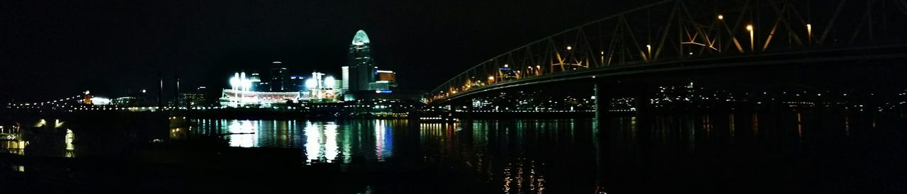 Water Reflection Lights On Water Watercolor Waterscape Riverscape Cincinnati Cities At Night Bridges
