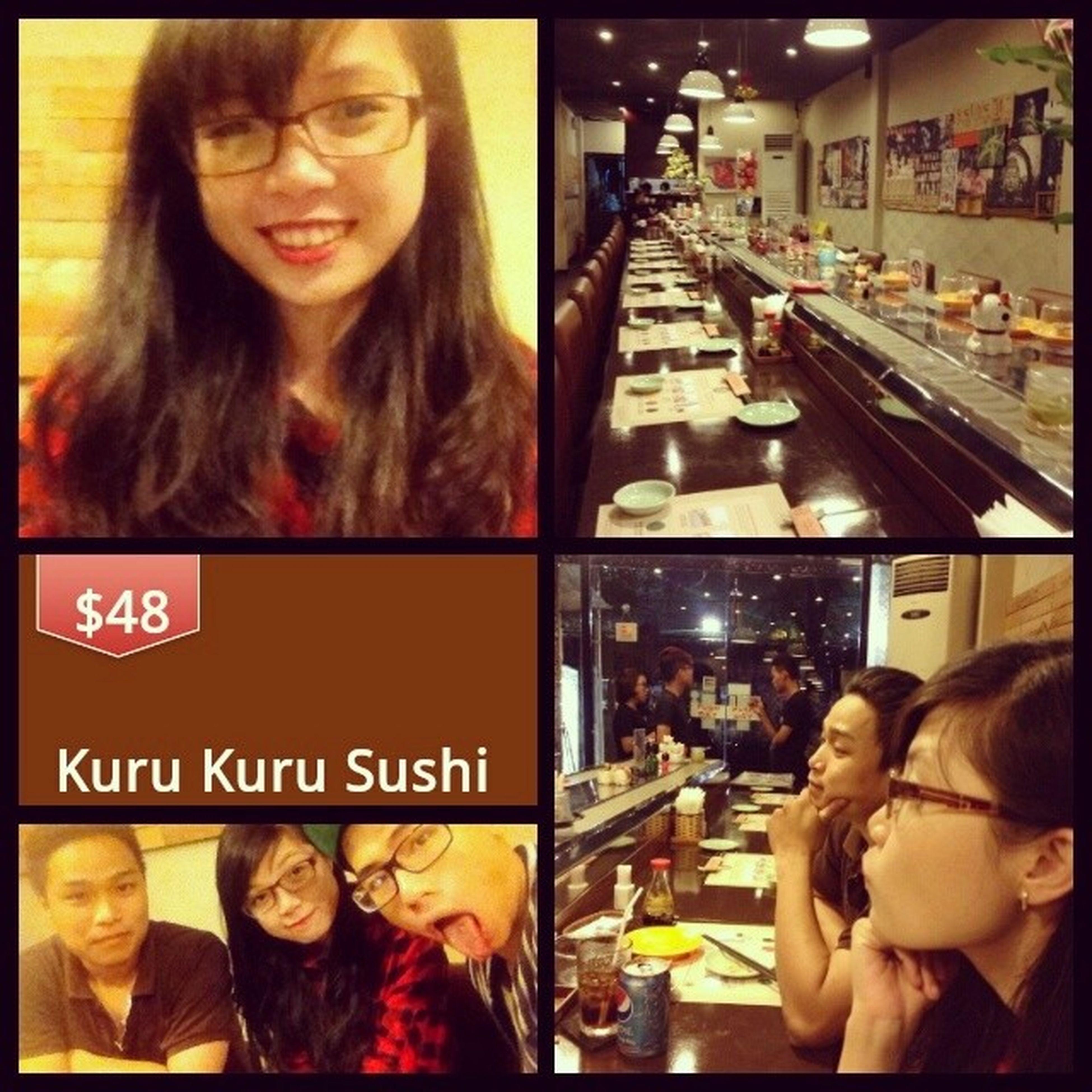 Sushi hok?? Sushi Kurukuru Food Saigon