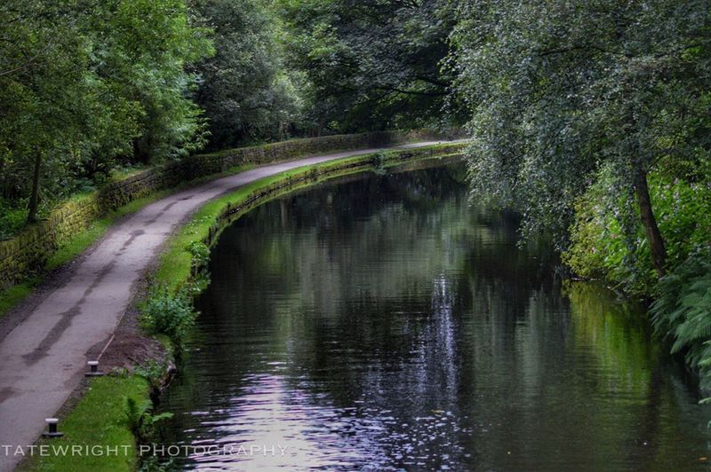 Reflections In The Water Landscape_Collection Saddleworth Canals And Waterways Uppermill
