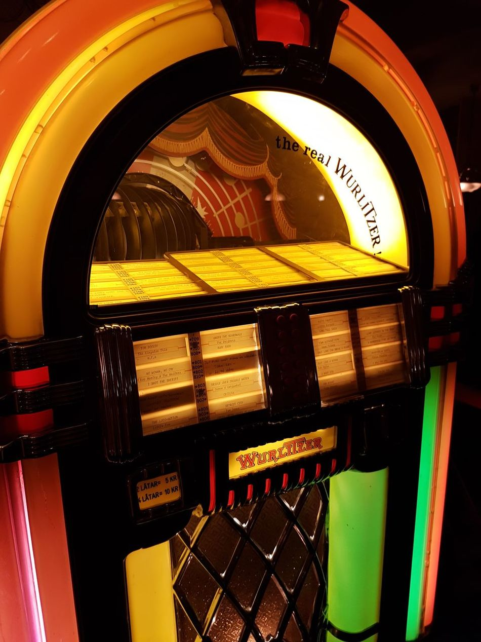 Close-up Cool Day Indoors  Industry No People Pool Science Vintage Wurlitzer Yellow