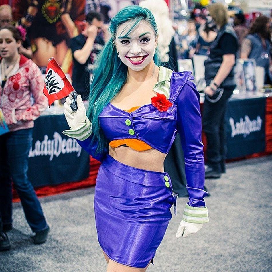 Another Joker at the PHXCC . Big Jokersmile 😀 Phoenixcomicon2014 phoenixcomicon phoenixcomiccon phoenixcomiccon2014