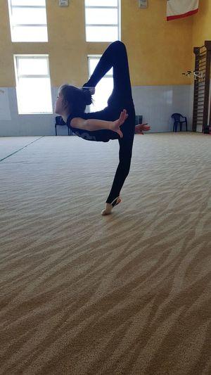 Sport Ritmic Gimnastics Training Traing Gymnastics Children First Eyeem Photo