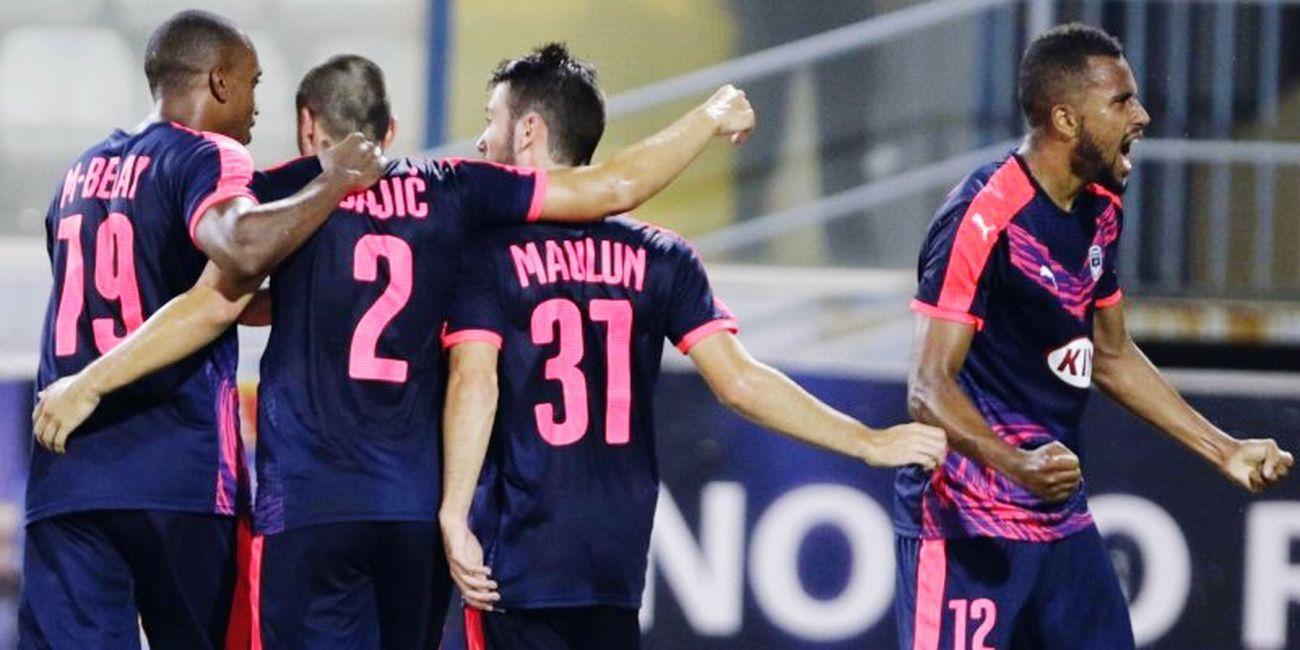 Girondins De Bordeaux Match Ligue1 Barrage Qualifié 👍 1 à 0 contre larnaca Europa ligue Victoire  Girondins