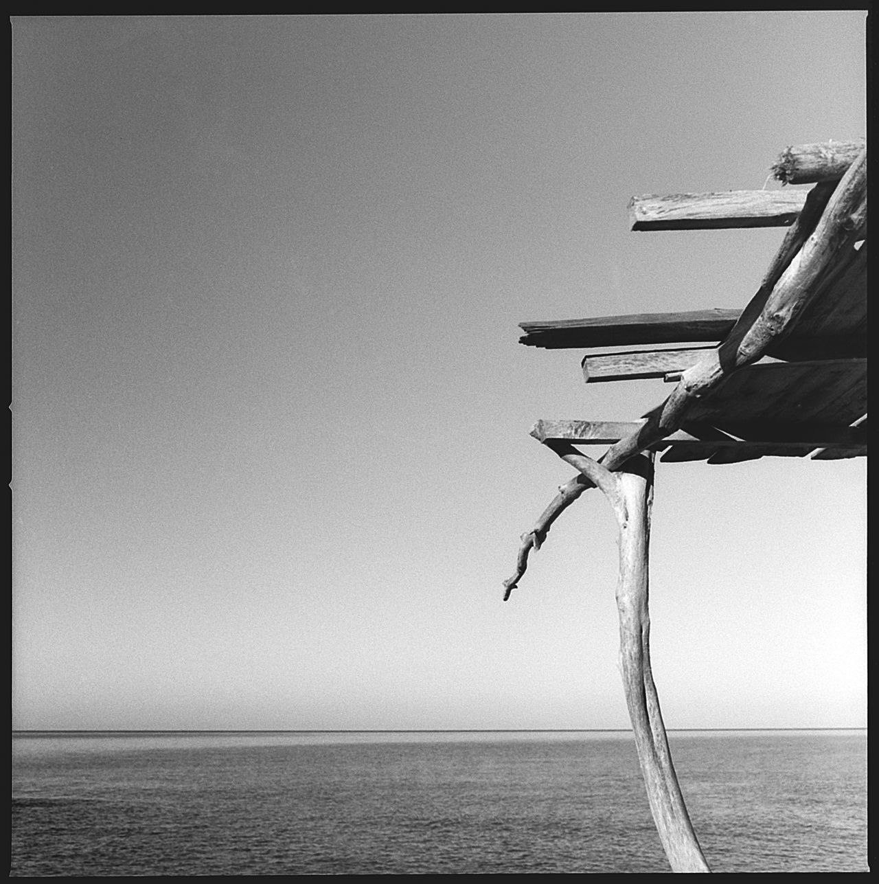 120 Film Beach Beauty In Nature Black & White Blackandwhite Blackandwhite Photography Clear Sky Day Formentera Formentera Island Hasselblad Horizon Over Water Island Nature No People Outdoors Scenics Sea Sky Tranquil Scene Tranquility Water