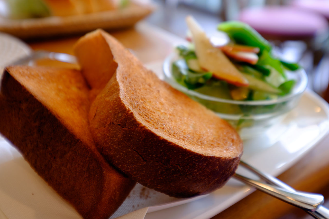 Bread Cafe Close-up Coffee Shop Food Food And Drink Fujifilm Fujifilm X-E2 Fujifilm_xseries Gourmet Japan Japan Photography Karuizawa Karuizawa,Japan Meal Plate Ready-to-eat Serving Size SLICE Toast カフェ トースト ばん 喫茶店 日本