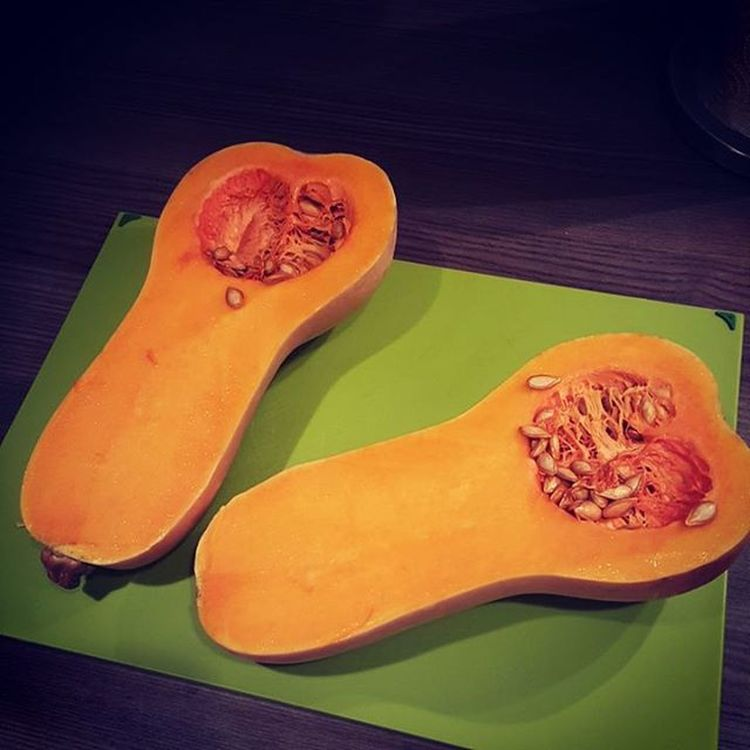 Looking forward to tonight's dinner :) ButternutSquash