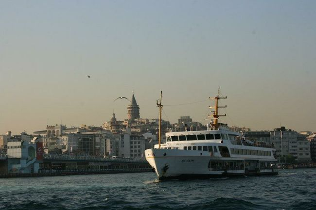 Eminönü/ İstanbul Istanbul Bosphorus Ship Boat Galata Galata Tower