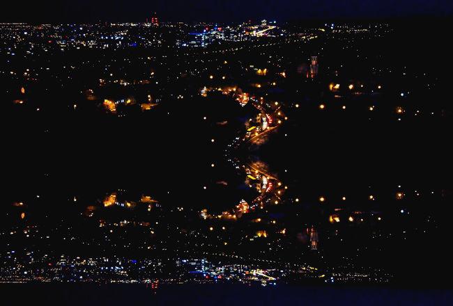 Light And Shadow Landscape Cityscapes Urban Geometry Nightphotography Gdańskeye Gdańsk, Poland