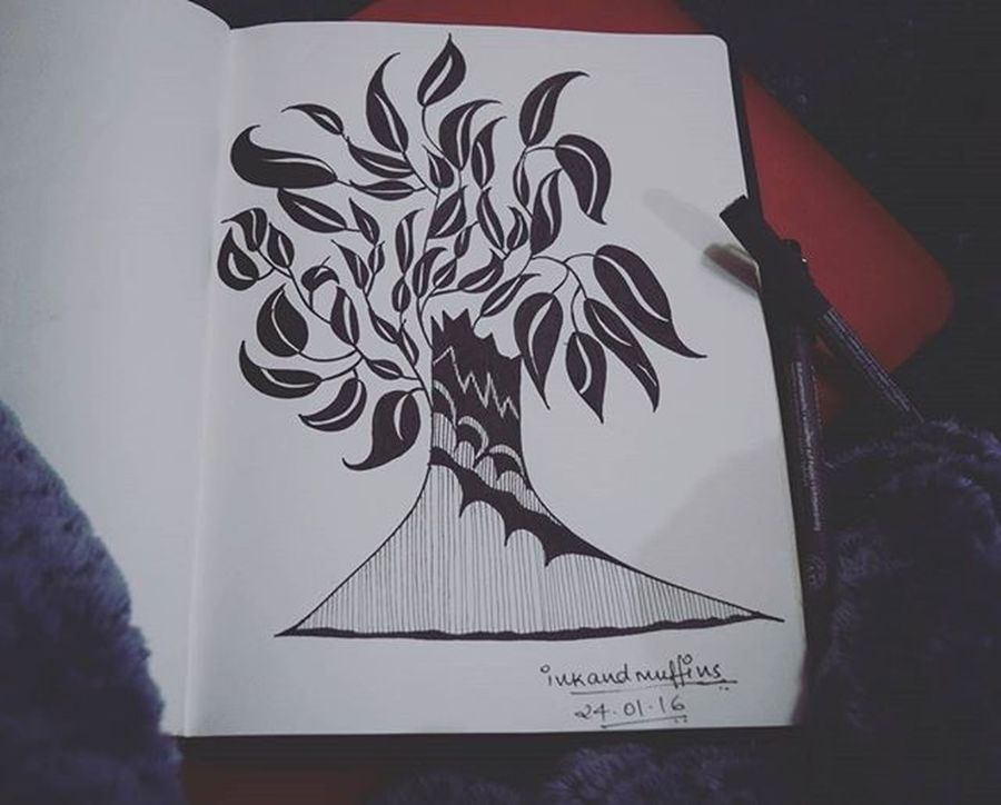 I guess this is how the tree of wisdom looks like.. Ink and muffins .. Coming soon.. Instagram Instagood Instalike Instaillustration Instascribble Instasketch Instapost Instaartist Instaartistic Instalove Instaphotography Instacomment Instacommunity Instablackandwhite Instasketching Instacompetition Blackandwhite Sketch Instaabstract Love Memory Winterlove Abstractbird Abstractart Abstract leaves abstractleaves dreamcometrue dream dreams