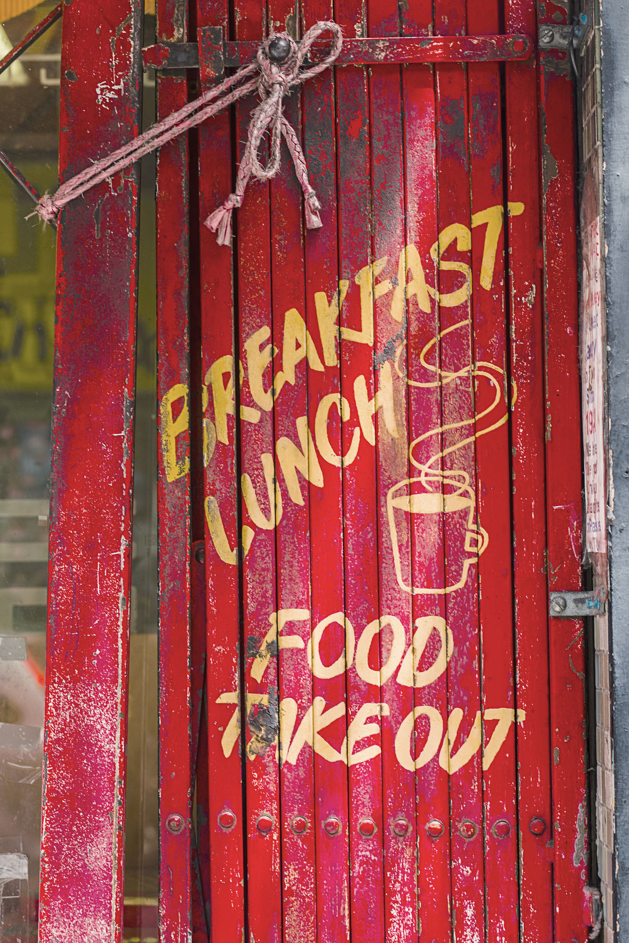 Red Vintage Restaurant Gate/Door Business Cafe Chinatown Day Doorways Focus On Foreground Food And Drink Information Information Sign Local Market No People Outdoors Red Red Door Red Gate Restaurant Rustic San Francisco Text Textures And Surfaces Vintage Western Script My Year My View
