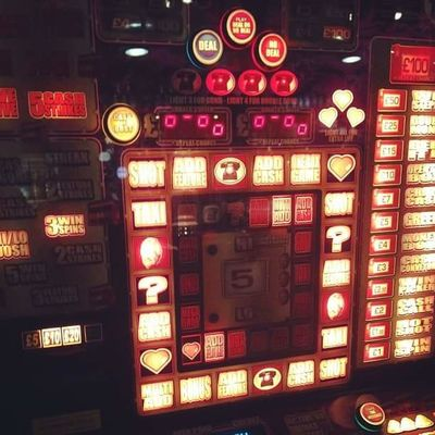 Architecture Built Structure Chance Close-up Gambling Illuminated Indoors  Multi Colored Night No People Technology