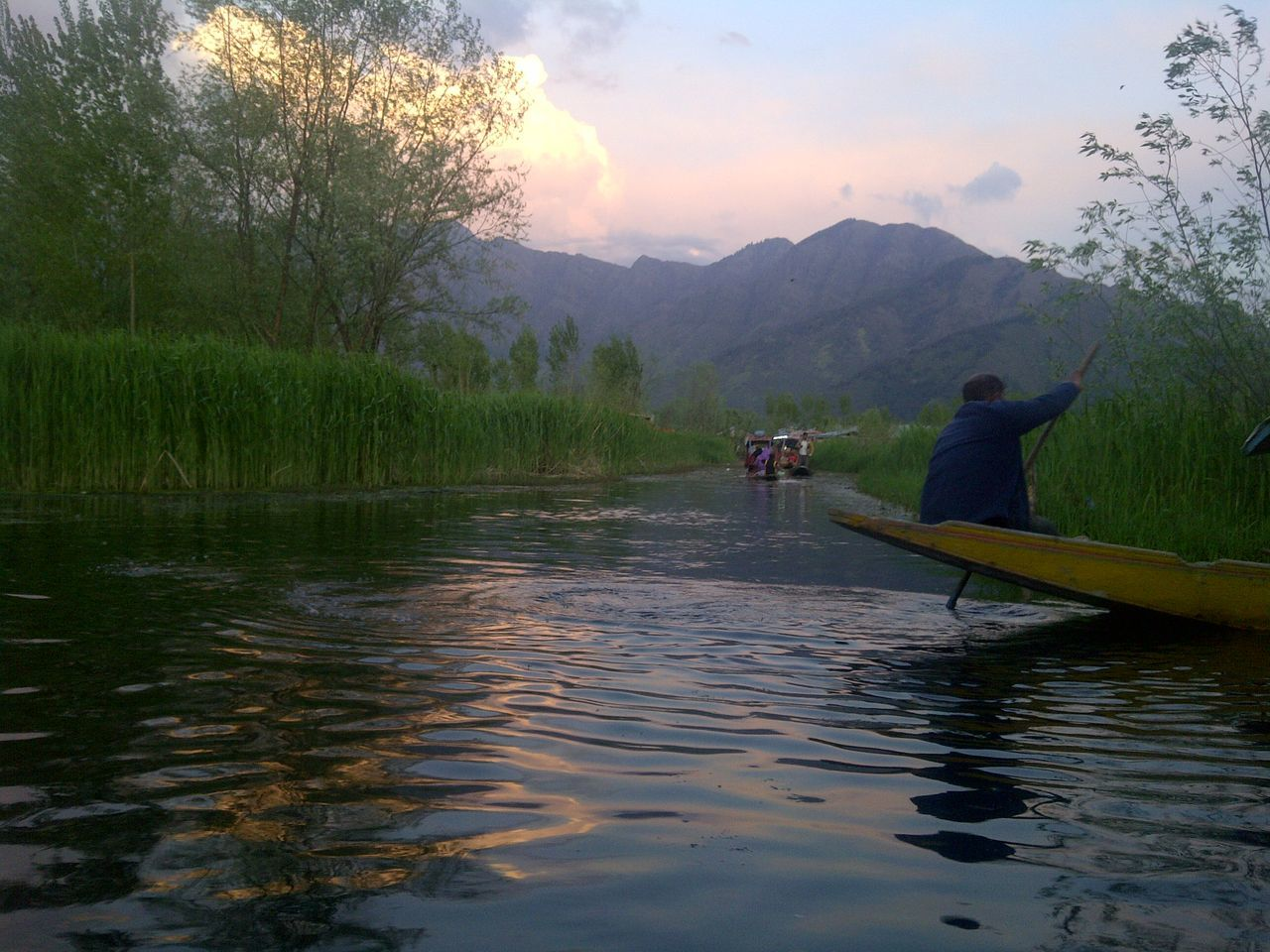 Beauty In Nature Day Kashmir Kashmirdiaries Nature Outdoors Sky Srinagar  Srinagar Kashmir Tranquility Water Feel The Journey My Favorite Place The Culture Of The Holidays