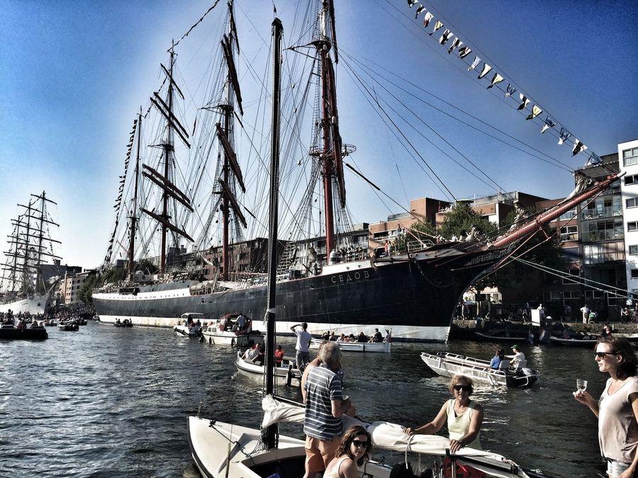 Sail2015 Amsterdam Boats Tall Ship