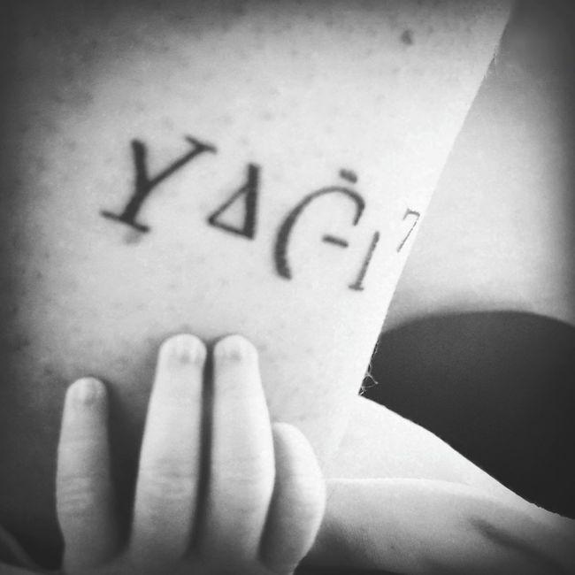 Yao Tattoo Blackandwhite