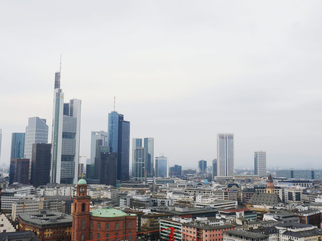 Mainhatten skyline.... and of course i like Frankfurt ! Things I LikeView From Above Skyline Frankfurt Cityscapes Urban Landscape Skyscrapers Buildings Architecture